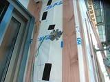 大黒柱のある地熱住宅 外断熱と2重通気・外装工事