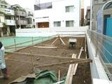 文京区M邸進捗状況(基礎工事着工)