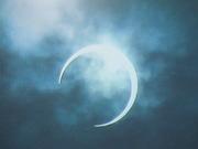 「金環日食」きれいでしたね!