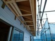 千葉県で在来軸組工法住宅施工中!