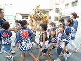 祭りだ、子供神輿だい!