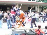 パワー全開の夏祭り